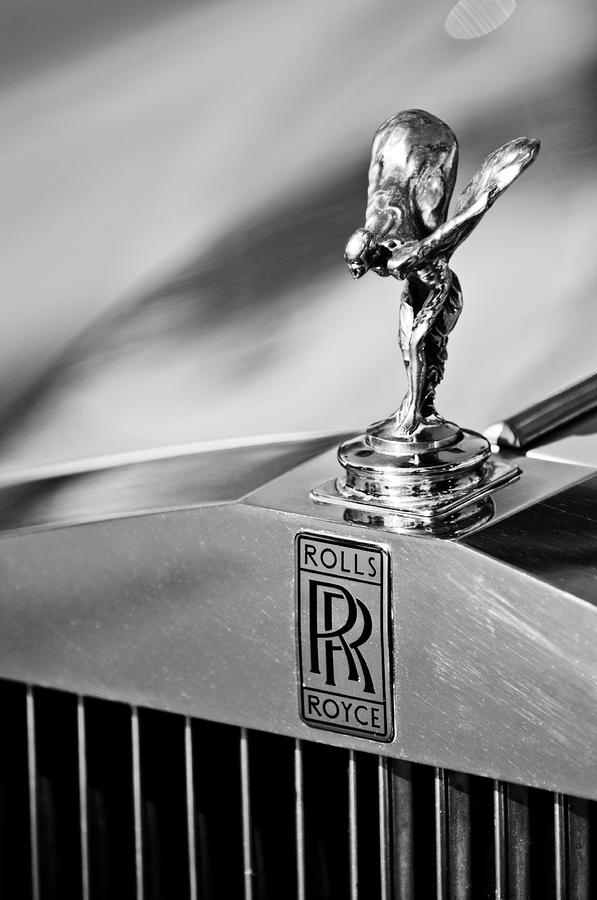 Rolls-royce Hood Ornament 2 Photograph