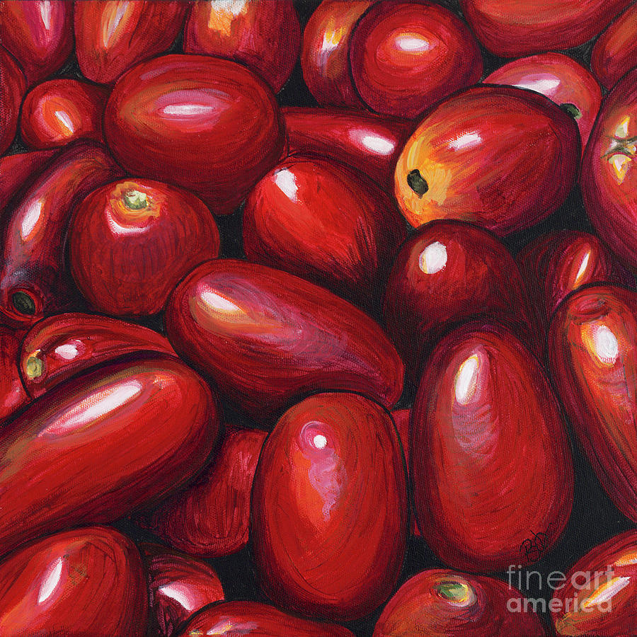 Roma Tomatoes Painting