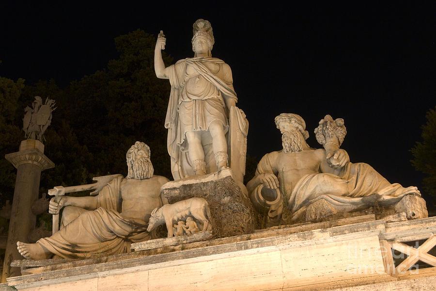 Roma Tra Tevere E Aniene Photograph