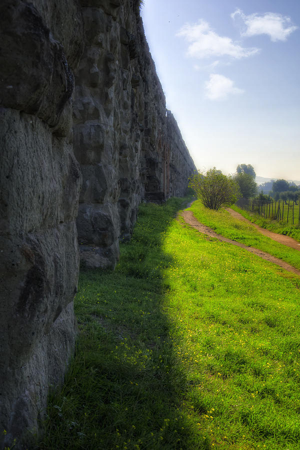 Roman Aqueducts Photograph