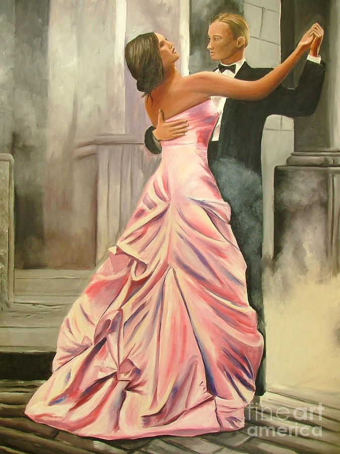 Romantic Dance Painting