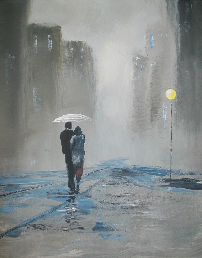Romantic Photos In Rain