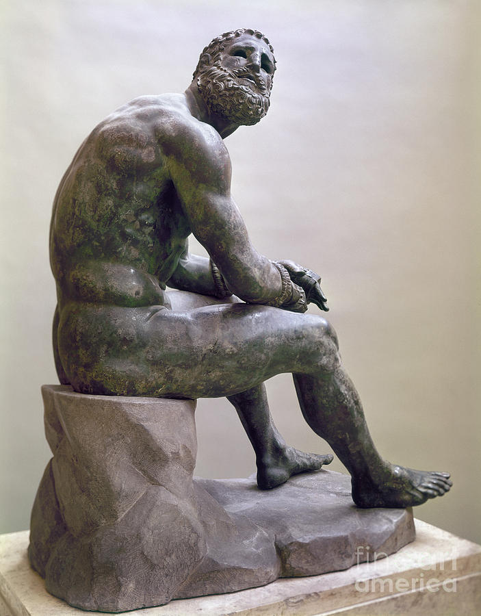 Rome Boxer Sculpture Sculpture