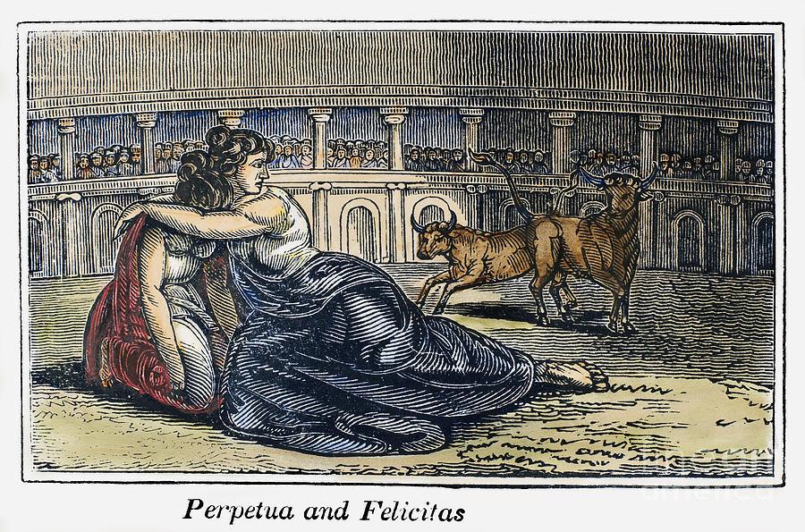203 Photograph - Rome: Perpetua & Felicitas by Granger
