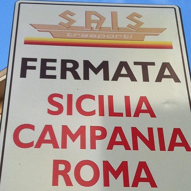 Autolinee Photograph - #rome Roma Vale Quanto Una Regione #bus by Francesca Ferrara
