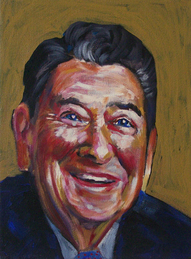 Ronald Reagan Painting