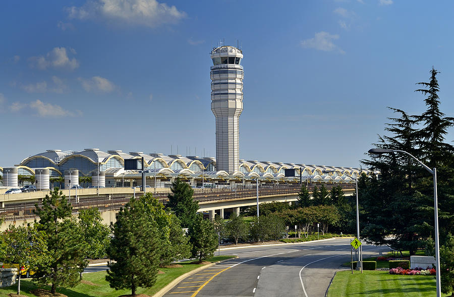 Ronald Reagan National Airport Photograph  - Ronald Reagan National Airport Fine Art Print