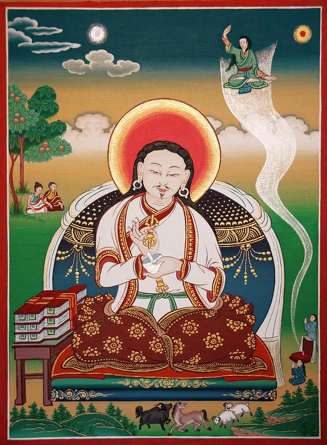 Rongzom Chokyi Zangpo  Painting