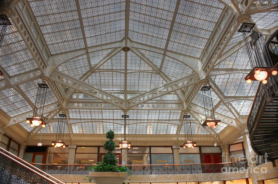 Rookery Ceiling Photograph  - Rookery Ceiling Fine Art Print