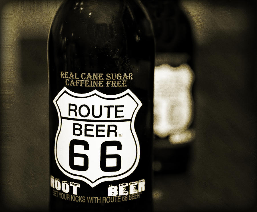 Root Beer Photograph
