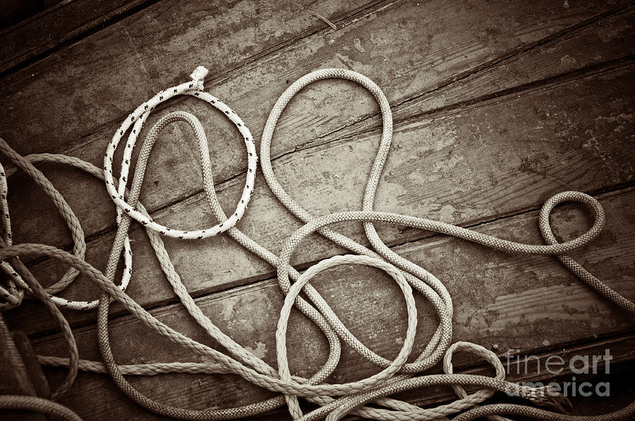 Ropes Photograph
