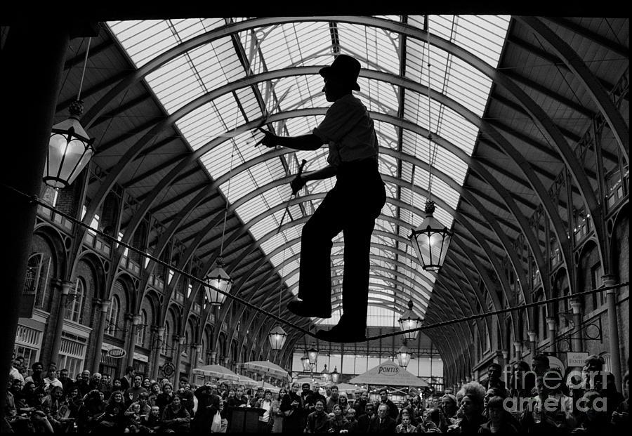 Ropewalker In Covent Garden Photograph