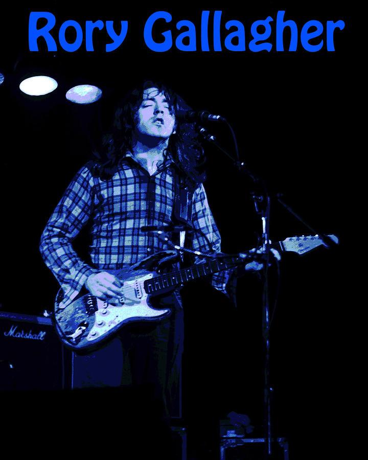 Rory gallagher million miles away lyrics