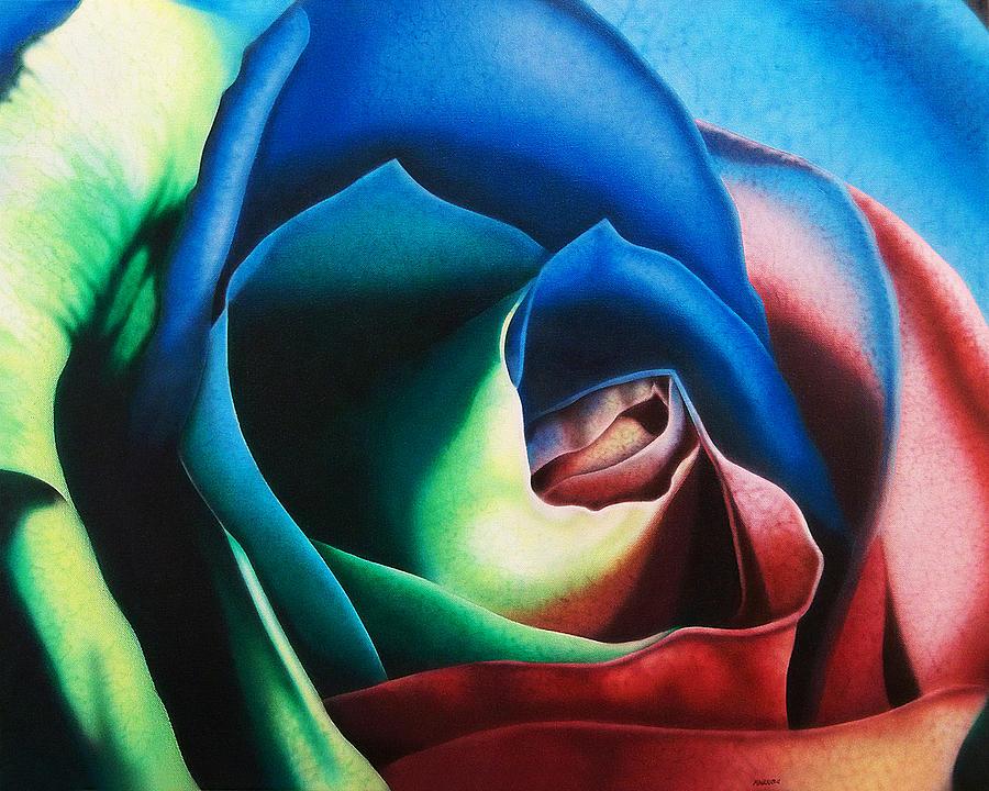 Rose Hybrid Painting