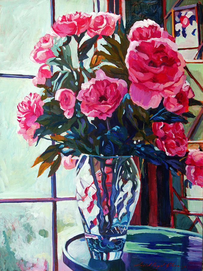Rose Symphony Painting