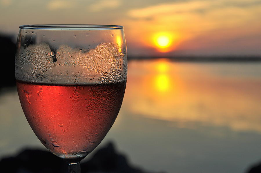 rose wine key largo sunset life is good by jonathan galente