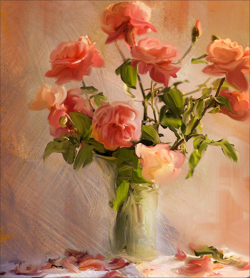 Roses La Belle Photograph