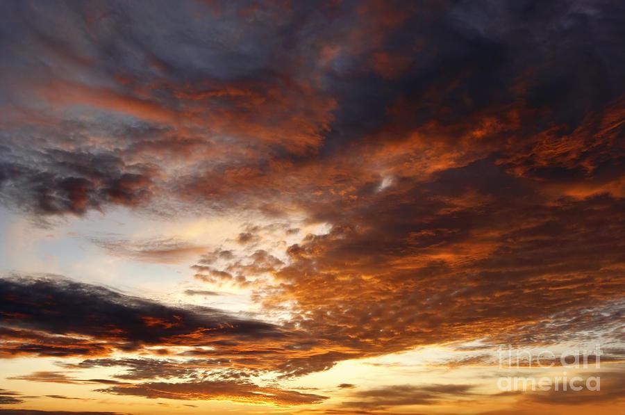Rosy Sky Photograph
