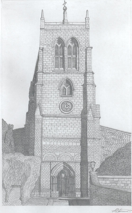 Rothwell Church Drawing