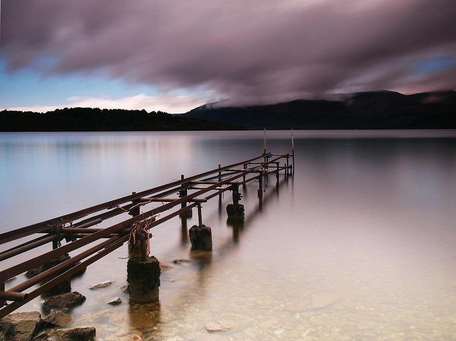 Scotland Photograph - Rotten Pier by Nina Papiorek