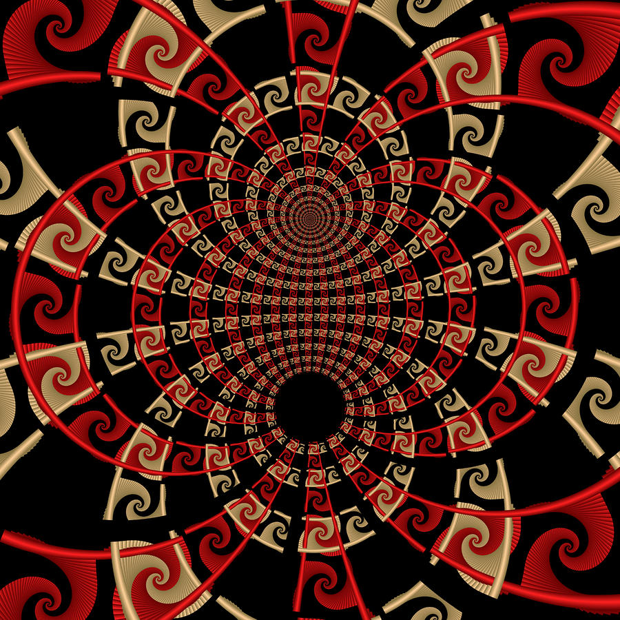 Roulette Sunset Digital Art