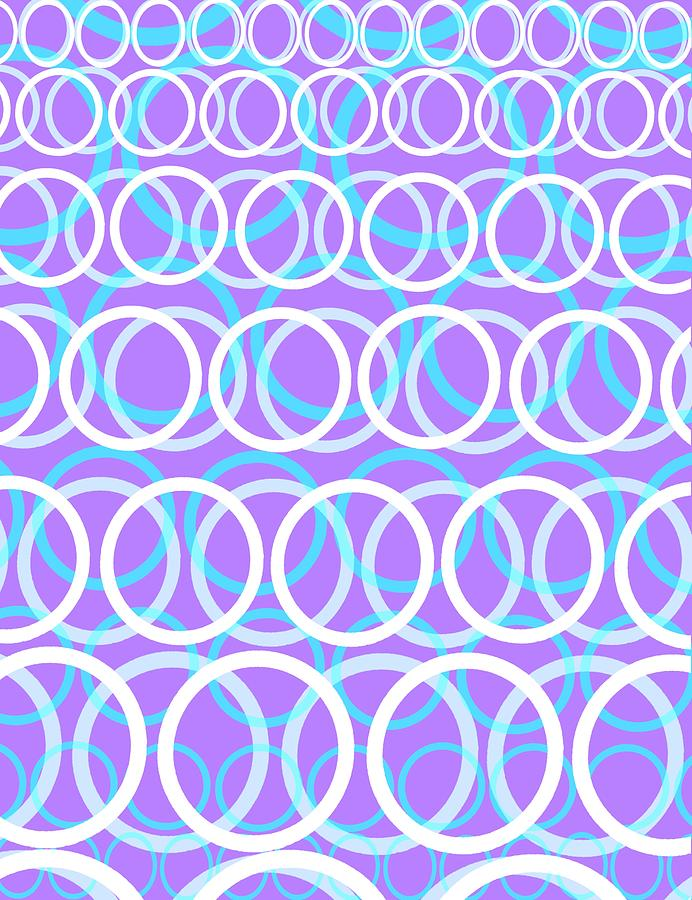 Round Cirlces Digital Art
