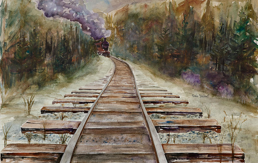 round The Bend Painting  - round The Bend Fine Art Print