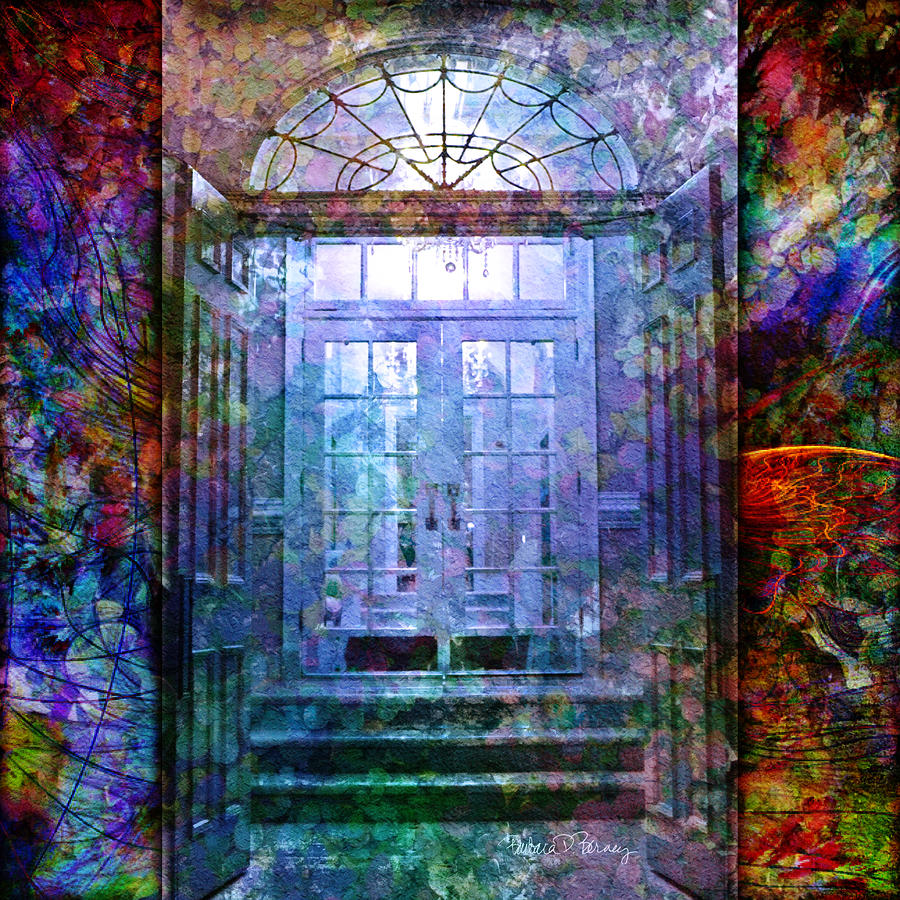 Rounded Doors Digital Art  - Rounded Doors Fine Art Print