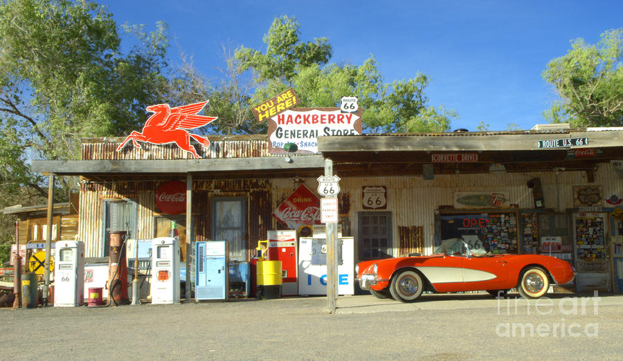 Route 66 Hackberry Arizona Photograph
