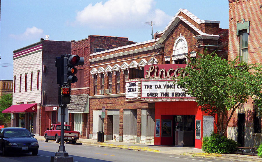 Route 66 Theater Photograph  - Route 66 Theater Fine Art Print