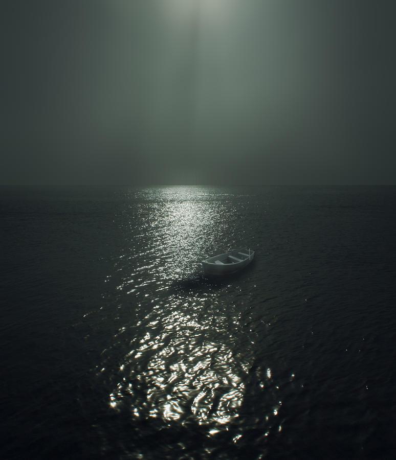 Row Boat Photograph
