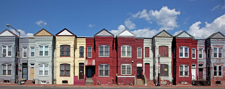 Row houses two by carol m highsmith row houses two for Row houses for sale