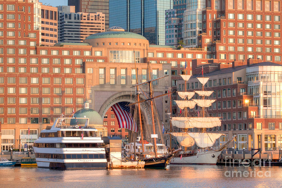 Rowes Wharf Photograph