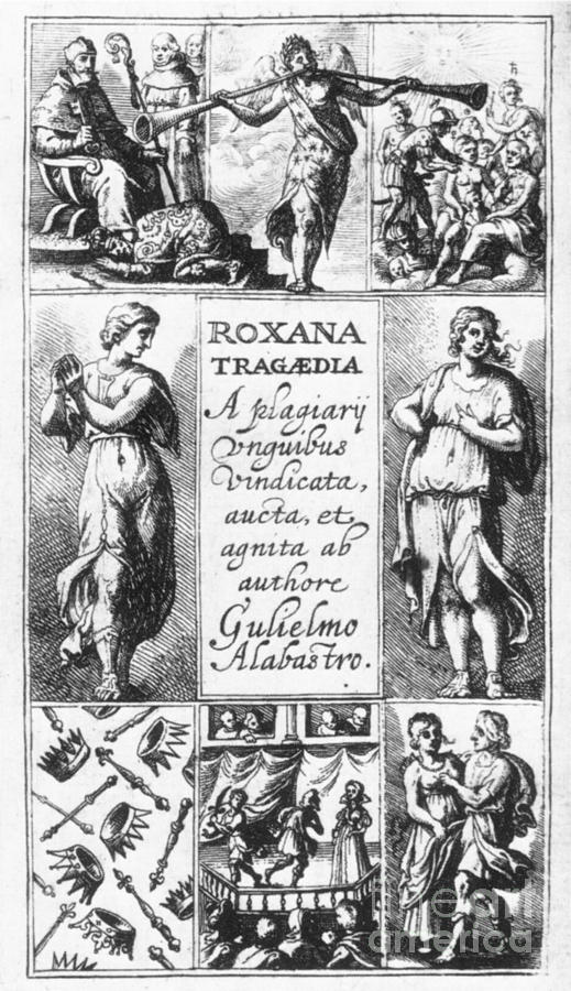 Roxana Tragaedia, 1632 Photograph