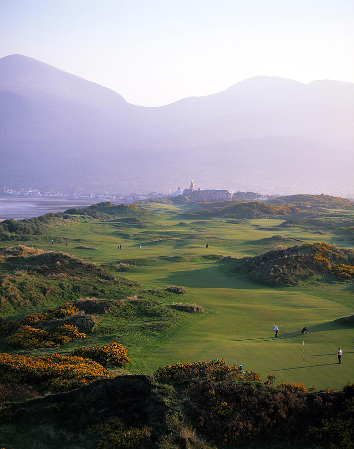 Royal County Down Golf Club In Front By Chris Hill