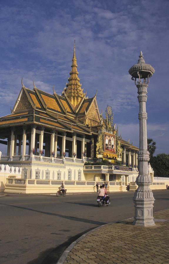 Royal Palaces Exterior Gate Photograph