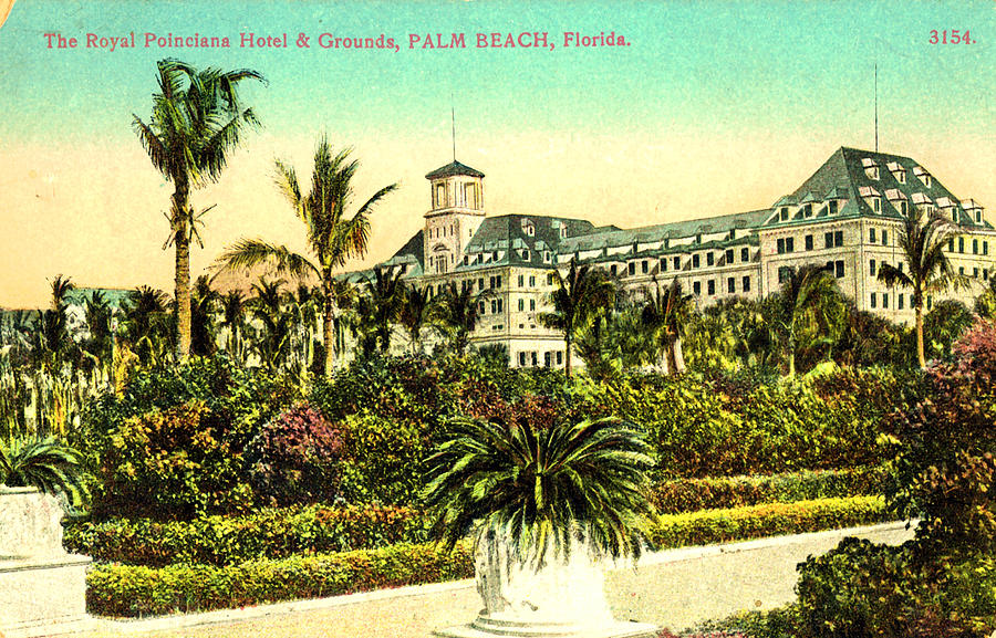Royal Poinciana Hotel - Royal Poinciana Hotel And Grounds Palm Beach by Unknown
