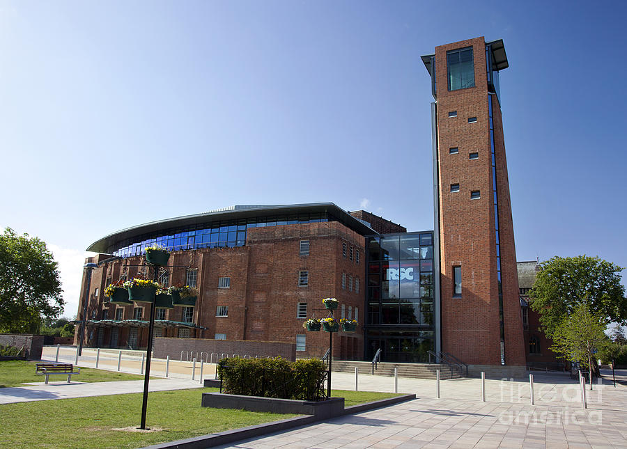 Royal Shakespeare Theatre Photograph  - Royal Shakespeare Theatre Fine Art Print