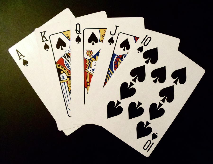 royal flush straight flush