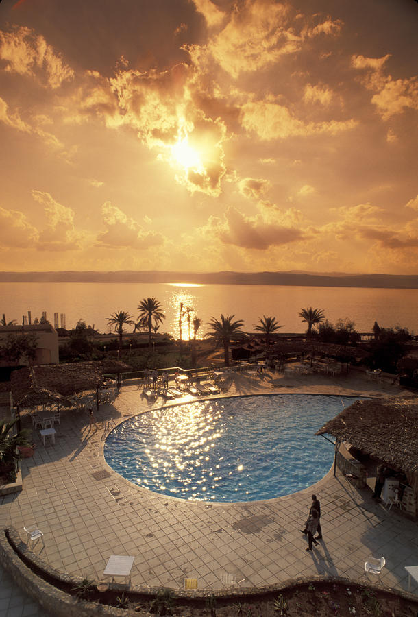 Royal Suite In The Dead Sea Spa Hotel Photograph
