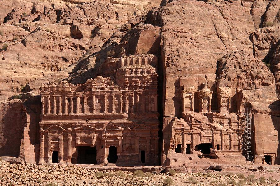 Royal Tombs, Petra, Jordan Photograph