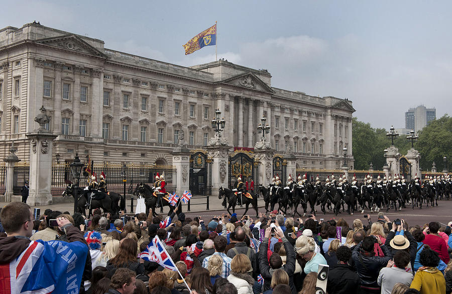 Royal Wedding Celebrations Photograph