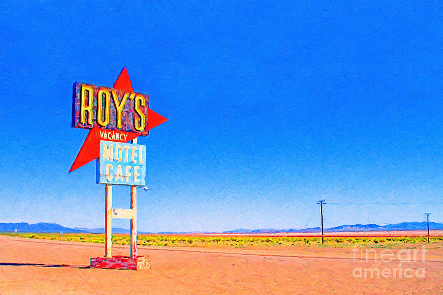 Roys Motel And Cafe Photograph