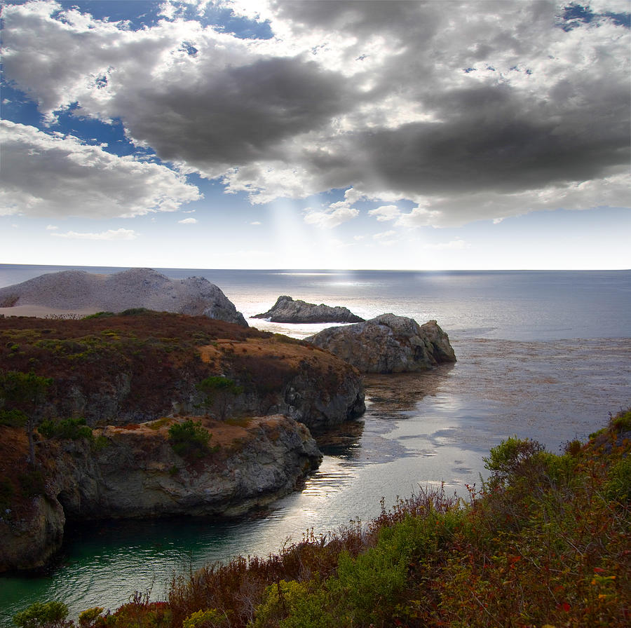 Rugged California Coastline Photograph  - Rugged California Coastline Fine Art Print