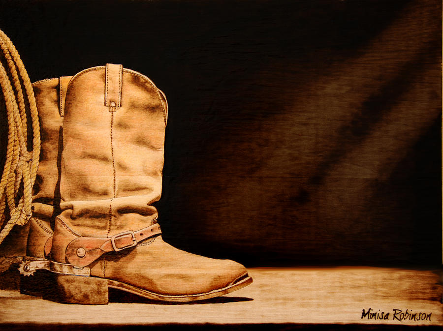 Rugged Pyrography  - Rugged Fine Art Print