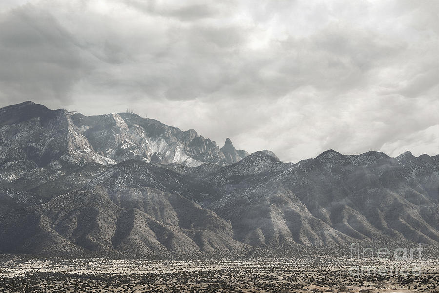 Rugged Sandias Photograph