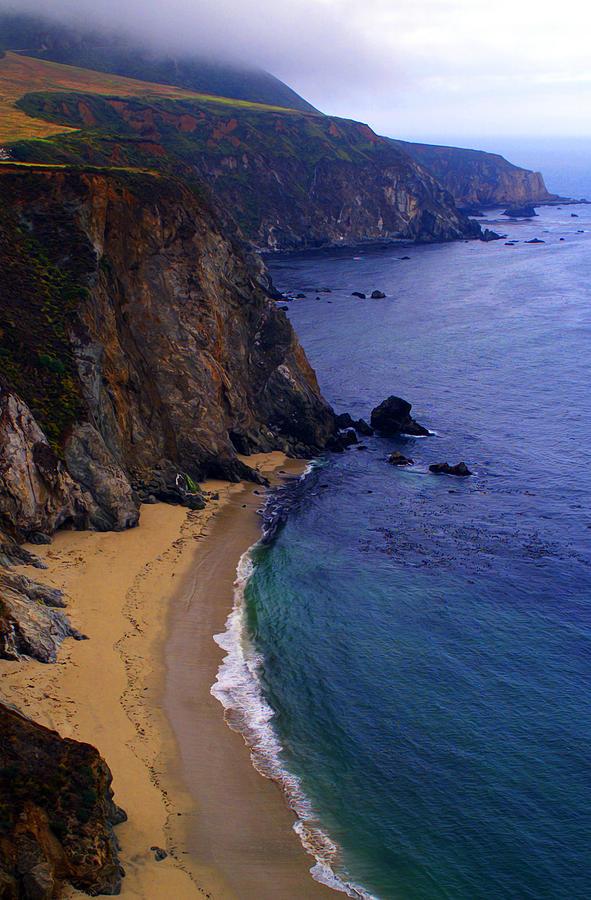 Rugged Shoreline Photograph