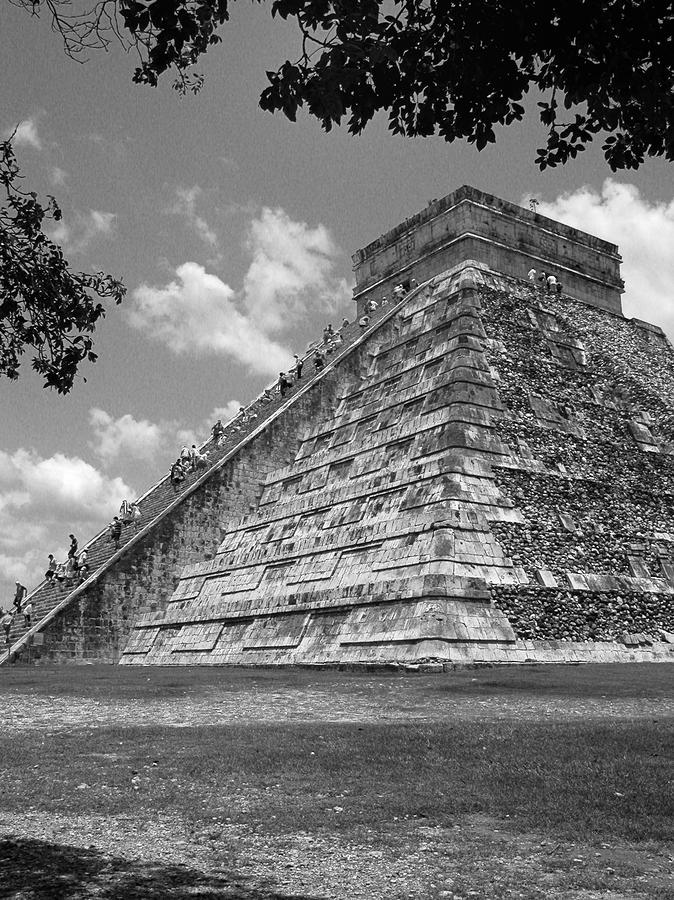 Ruins At Chichen Itza 5 Photograph  - Ruins At Chichen Itza 5 Fine Art Print