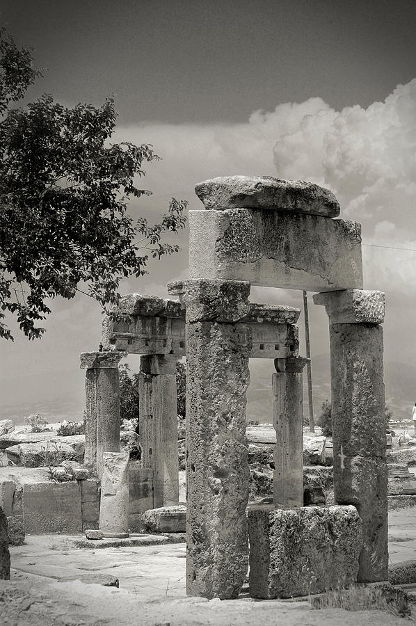 Ruins Of Hierapolis Photograph