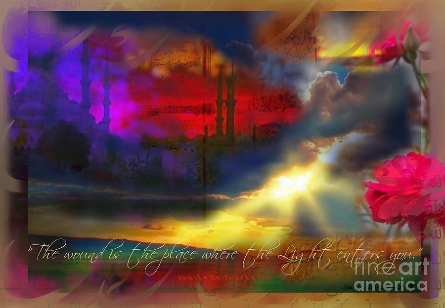 Rumi Rumination-1 Painting